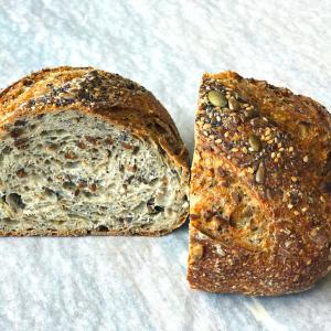 Multi-seed bread from A Friendly Bread